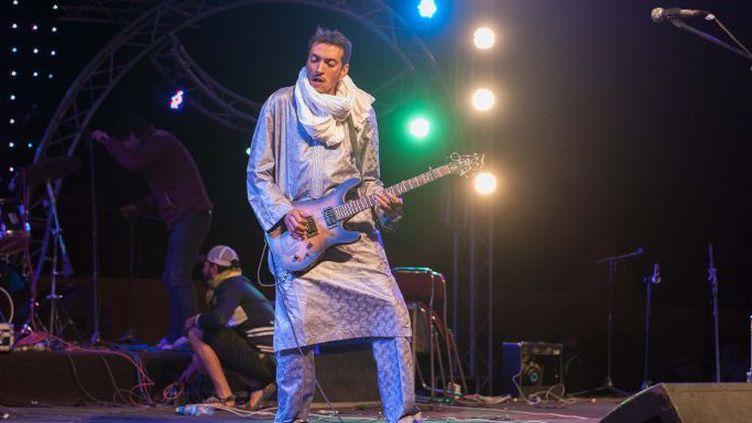La culture touarègue à l'honneur au Festival des Nomades. (Jalal Morchidi / ANADOLU AGENCY/AFP)