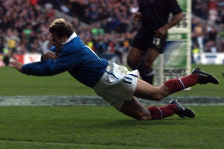 France - Nouvelle-Zélande, demi-finale de la Coupe du Monde 1999 (JEAN-LOUP GAUTREAU / AFP)