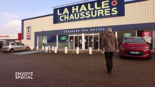 La Halle aux chaussures de Mions (FRANCE 2 / FRANCETV INFO)