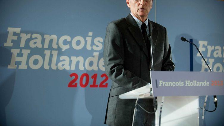 André Vallini, chargé des questions de justice dans l'équipe de François Hollande, le 21 novembre 2011 à Paris. (FLORENT DUPUY / SIPA)