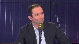 Benoît Hamon, membre fondateur de Génération.s, le 27 février 2019. (RADIO FRANCE / FRANCEINFO)
