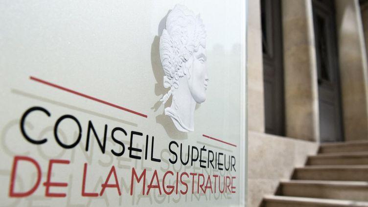Le Conseil national de la magistrature (CSM) à Paris, le 19 avril 2021. (ALAIN JOCARD / AFP)