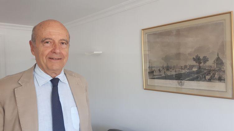 Alain Juppé, membre du Conseil constitutionnel, ex-maire de Bordeaux. (SEBASTIEN BAER / FRANCEINFO / RADIO FRANCE)