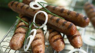 Un boucher marseillais a lancé la première saucisse au cannabis. (ROULIER/ TURIOT / MOOD4FOOD / AFP)