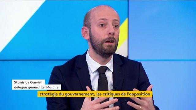 """Réforme des retraites : Le rêve du RN """"est de faire en sorte que nous ne réussissions pas"""", affirme Stanislas Guérini (LREM)"""