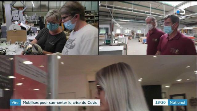 Normandie : comment les entreprises de Vire ont tenu bon face au Covid-19