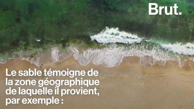 On le retrouve dans les bacs, sur les plages, dans les déserts… Mais qu'est-ce que le sable ? Explications.