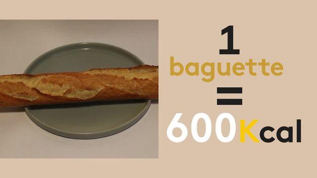 200 calories (kcal) dans l'assiette