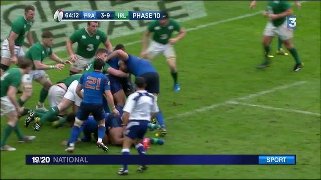Rugby : la France bat l'Irlande au forceps