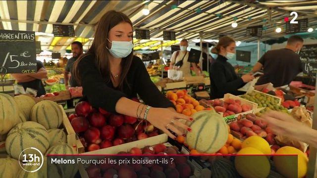 Fruits et légumes : le manque de soleil entraîne la baisse du prix des melons