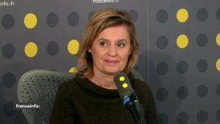 Catherine Alvaresse,invitée de franceinfo le 3 février 2020. (FRANCEINFO / RADIOFRANCE)