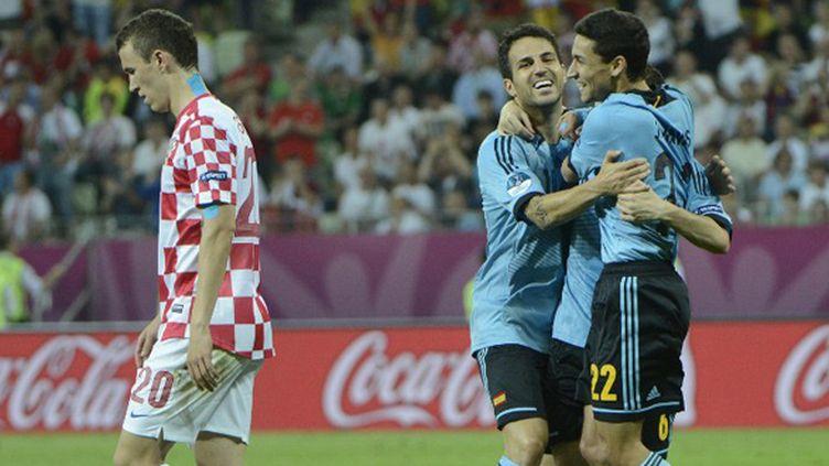 L'Espagne file en quart de finale grâce à un but de Jesus Navas en toute fin de match