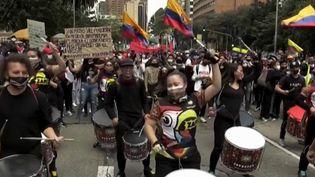 Colombie : les manifestants obtiennent le retrait de la réforme fiscale (Capture d'écran franceinfo)