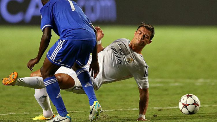 Cristiano Ronaldo (Real Madrid) face à Chelsea (MIKE EHRMANN / GETTY IMAGES NORTH AMERICA)
