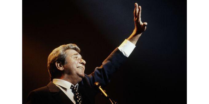 Gilbert aux Francofolies de Montréal en 1994  (Pierre Roussel / NEWSCOM / SIPA)