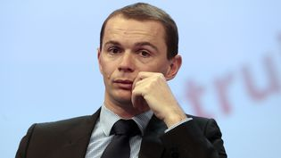 Olivier Dussopt, député Nouvelle Gauche de l'Ardèche et président de l'Association des petites villes de France, le 20 novembre 2013. (JACQUES DEMARTHON / AFP)