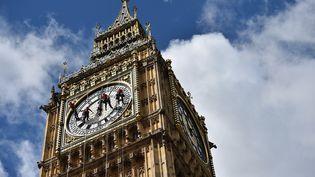 La tour de Big Ben à Londres (Royaume-Uni), le 19 août 2014. (BEN STANSALL / AFP)