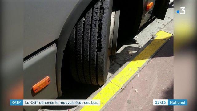 Transports : la CGT dénonce le mauvais état des bus de la RATP