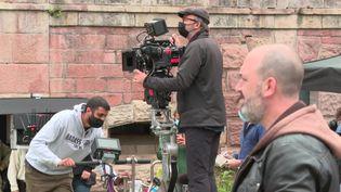 """Deux nouveaux épisodes de la série """"César Wagner"""" en tournage en Alsace (P. Dezempte / France Télévisions)"""