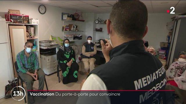 Covid-19 : à Marseille, des brigades anti-Covid aident les habitants des cités à se faire vacciner