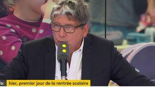 Eric Coquerel, député La France insoumise de Seine-Saint-Denis (RADIO FRANCE / FRANCEINFO)