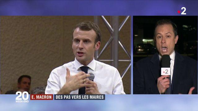 Emmanuel Macron : des pas vers les maires