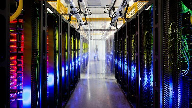 Capture d'écran de l'une des photos publiées le 17 octobre 2012 par Google, faute de pouvoir faire visiter ses centres de données. (FTVI)