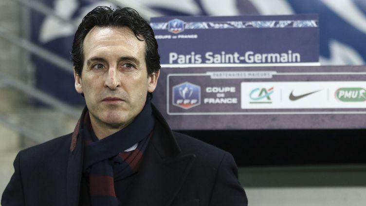 L'entraîneur parisien dans la tourmente après ses choix contestés à Madrid mercredi. (ELYXANDRO CEGARRA / CROWDSPARK)