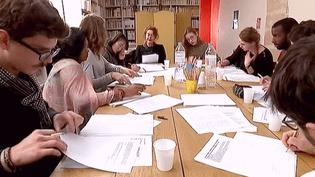 Atelier de lecture de la Maison de la Poésie  (France 3 / Culturebox)