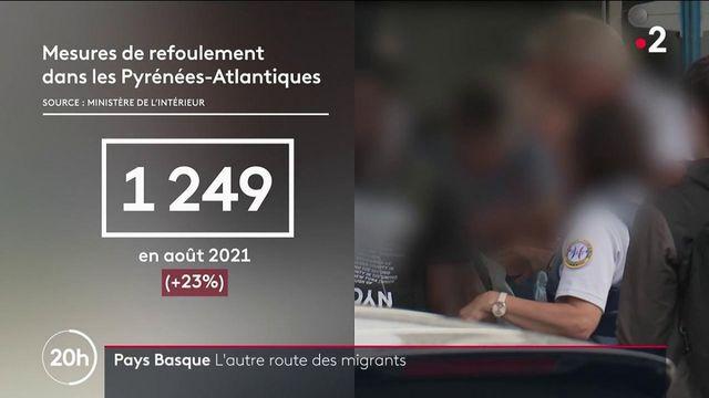 Pays basque : de plus en plus de tentatives des migrants