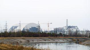La centrale de Tchernobyl, en Ukraine, le 26 février 2015. (VOLODYMYR SHUVAYEV / AFP)