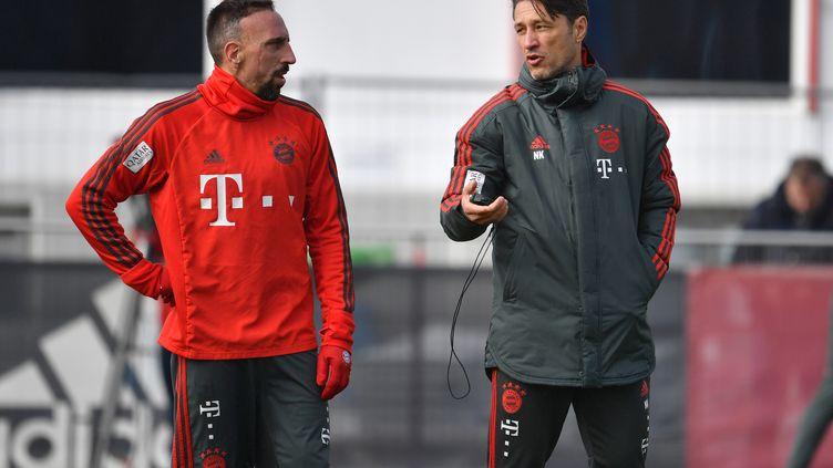 Niko Kovac et Franck Ribéry (FRANK HOERMANN/SVEN SIMON / SVEN SIMON)
