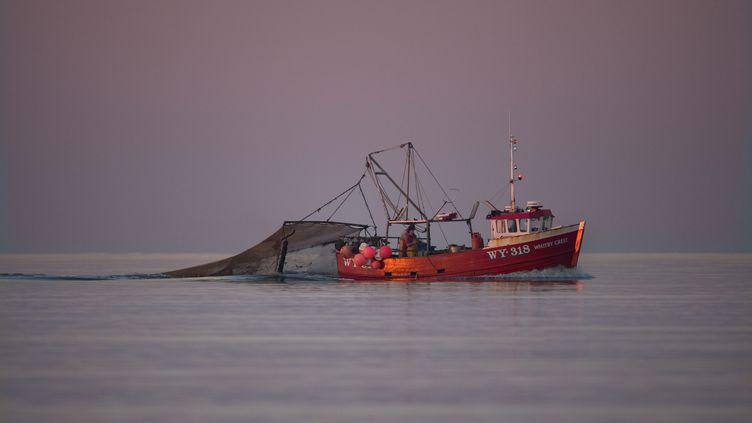 Pêche en eaux britanniques (illustration). (ERNIE JANES / MAXPPP)