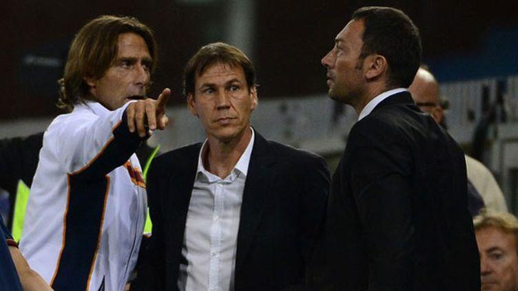 L'entraîneur de la Roma, Rudi Garcia, exclu sur le terrain de la Sampdoria