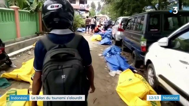 Indonésie : le bilan du tsunami s'alourdit