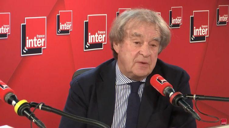L'architecte Jean-Michel Wilmotte, le 17 avril 2019 sur France Inter. (FRANCE INTER)