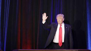 Le président-élu Donald Trump, le 9 novembre 2016 à New York (Etats-Unis). (JOHN LOCHER/AP/SIPA / AP)