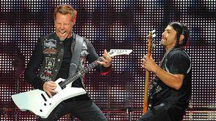 Metallica au festival de Donington (G-B), juin 2012  (Mark Allan/AP/SIPA )