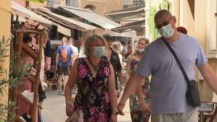 Covid-19 : le port du masque de nouveau obligatoire dans certaines zones. (FRANCE 3)