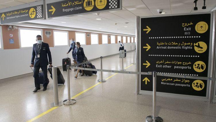 Aéroport international Mohammed V de Casablanca, le 15 juin 2021. (JALAL MORCHIDI / ANADOLU AGENCY)