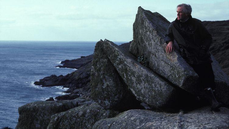 John Le Carré dans les Cornouailles, en février 1983 (JACOB SUTTON / GAMMA-RAPHO / VIA GETTY IMAGES)