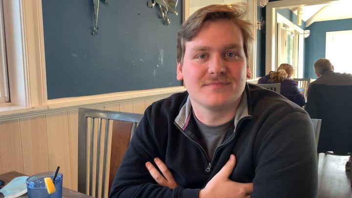 Dean Bishop, 25 ans, ingénieur, Richmond, Virginie. (FRANCK MATHEVON / RADIO FRANCE)