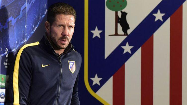 L'entraîneur de l'Atletico Madrid, Diego Simeone