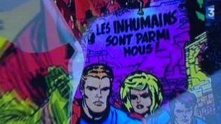 Les super-héros des Marvel Comics version non censurée  (Culturebox)