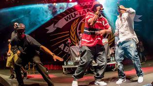Le Wu-Tang Clan sur scène à Las Vegas le 18 septembre 2014  (MediaPunch/REX/REX/SIPA)