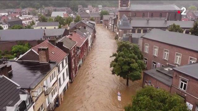 Belgique :des villes inondées et endeuillées suite aux intempéries