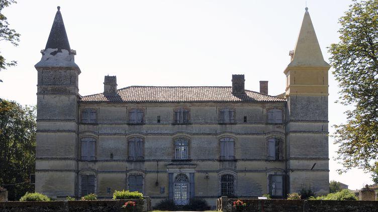 Le châteauPierre-Paul Riquet, à Bonrepos-Riquet (Haute-Garonne) le 10 août 2016. Il sera ouvert pour les Journées du patrimoine. (PASCAL PAVANI / AFP)