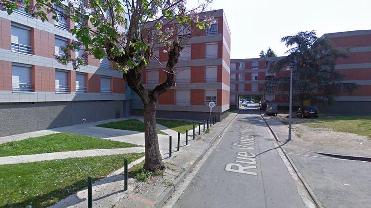 Le meurtrede la jeune femme s'est déroulé à Toulouse dans le quartier Bellefontaine rue Vincent Van Gogh. (GOOGLE MAPS)