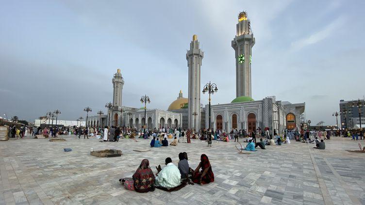 La nouvelle mosquée de Dakar, au Sénégal. (ALAATTIN DOGRU / ANADOLU AGENCY)
