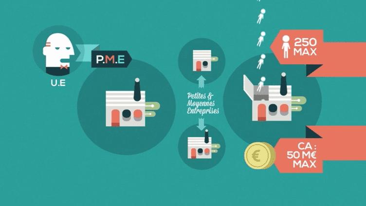 En 2010, la France comptait plus de 3,4 millions de PME. (FRANCE 5 / OWNI)
